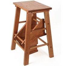 Handcrafted Solid Oak Step Stool · + ENLARGE IMAGE  sc 1 st  Lehmanu0027s & Handcrafted Solid Oak Step Stool Indoor Furniture - Lehmanu0027s islam-shia.org