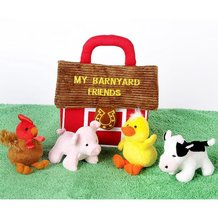 Barnyard Friends Plush Set