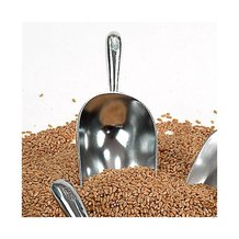 1-1/2 Cup Cast Aluminum Grain Scoops