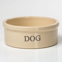 Stoneware Dog Bowl - Medium