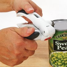 Lock and Lift Can Opener