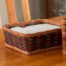 Amish-Made Napkin Basket