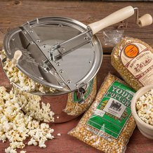 Stainless Steel Popcorn Popper