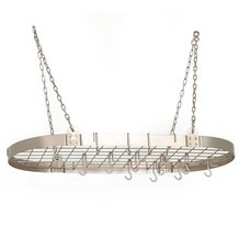 Nickel Hanging Pot Rack