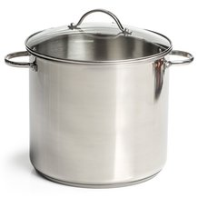 Stainless Steel Stockpot – 12 Qt
