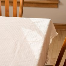 "Mountain Weave Tablecloth - 70"" Round"