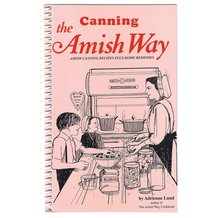 Canning The Amish Way Book