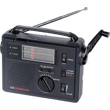 Solar Emergency AM/FM/Weather Radio/Light