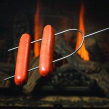 Classic Steel Hot Dog Roasters