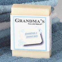 Grandma's Shampoo/Shave Bar Soap