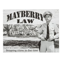 Mayberry Law Sign