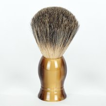 Classic Finish Badger Hair Shaving Brushes