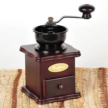 Top-Crank Coffee Mill