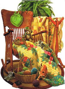 Shaped Jigsaw Puzzle - On the Rocker