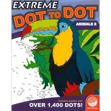 Extreme Dot-to-Dot Animals 2