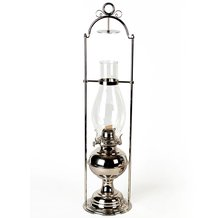 Ranch Cabin Hanging Oil Lamp