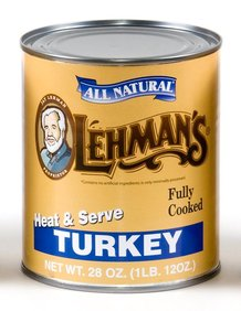 Canned Turkey Meat 28 oz