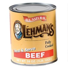 Canned Beef Meat 28 oz - Case of 12