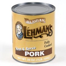 Canned Pork Meat -12 Can Case