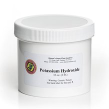 Potassium Hydroxide for Soapmaking