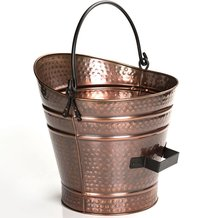 Copper Coal Hod