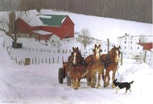 Amish Country Jigsaw Puzzle - Working on the Farm