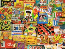 Games We Played Jigsaw Puzzle