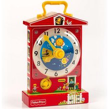 Fisher Price Music Box Teaching Clock