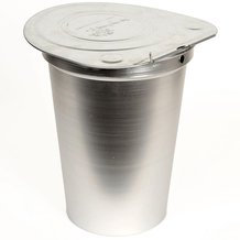 2-Gallon Aluminum Sap Bucket with Lid