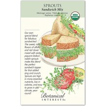 Sprouts Sandwich Mix Organic Seeds
