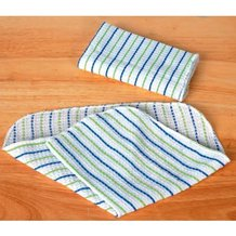 Woven Striped Dishcloths