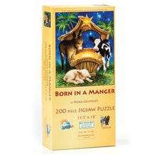 Born in a Manger Jigsaw Puzzle