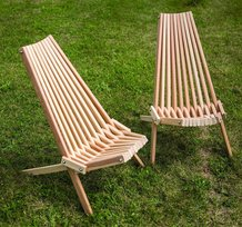 Cypress Cricket Chairs - Set of 2