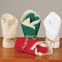 100% Cotton Dishcloths