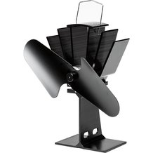 Small Heat-Powered Stove Fan