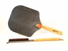 Pizza Peel and Stone Brush
