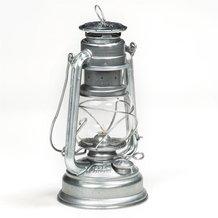 Feuerhand Lantern from Germany - Silver Galvanized