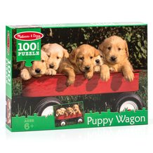 Puppy Wagon Jigsaw Puzzle