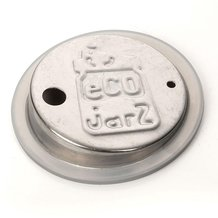 EcoJarz Stainless Steel Drink Lid - Regular Mouth