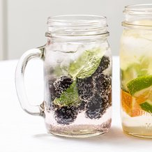 Ball Glass Canning Jar Mugs Set - 16 oz