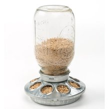 Jar Chicken Feeder