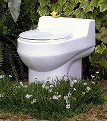 Santerra Green Y60 Composting Toilets