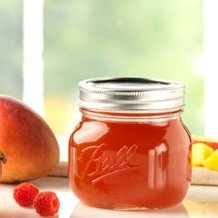 Ball Elite Clear Wide-Mouth Pint Jars