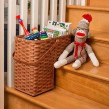 Amish-Made Step Basket