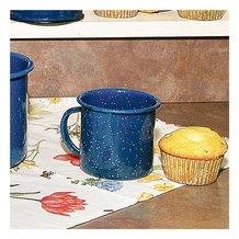 Royal Blue Enamelware Standard Mug