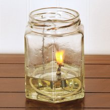 Merry Corliss Table Olive Oil Lamp