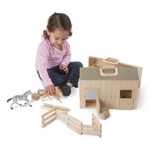 Fold and Go Wooden Stable