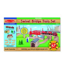Swivel Bridge Toy Train Set