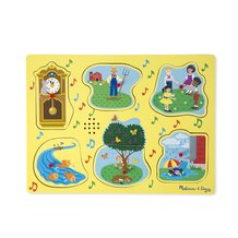 Sing-Along Nursery Rhyme Puzzle - Itsy Bitsy Spider and Friends