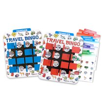 Flip to Win Bingo Travel Game